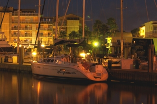 Margaritaville at dawn in Port A