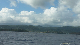 Approaching Port Antonio Jamaica
